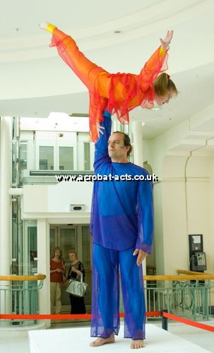 British Themed Acrobatic Acts
