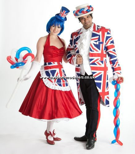 British Themed Balloon Modellers