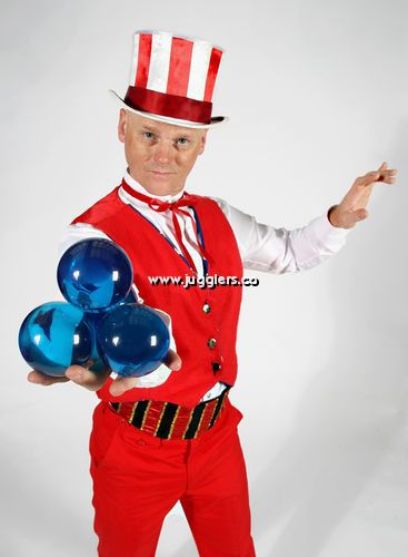 July 4th Juggler