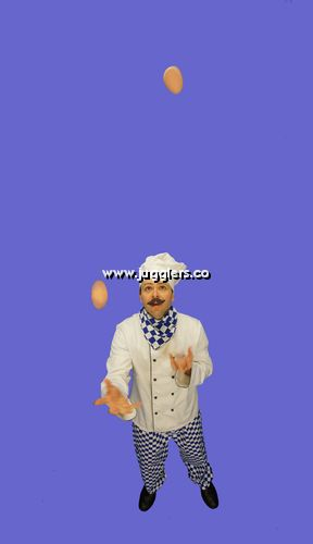 Chef Juggling Act